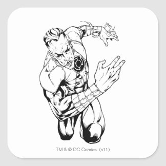 Thaal Sinestro 9 Square Sticker