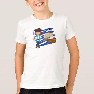 Thaddeus and His Ship -Boys T-shirt