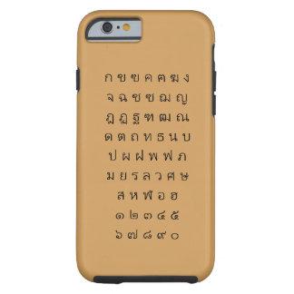 Thai Alphabet Case iPhone6/6s