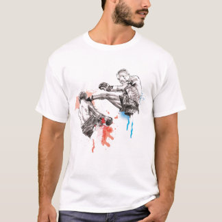Thai Boxing art/paint T-Shirt