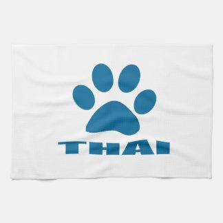 THAI CAT DESIGNS KITCHEN TOWEL