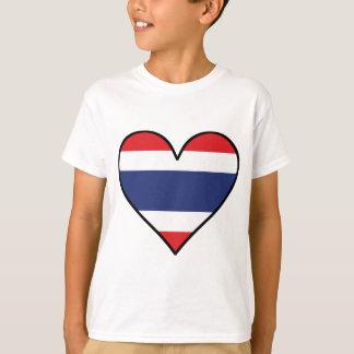 Thai Flag Heart T-Shirt