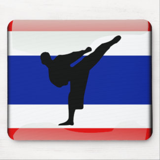 Thai flag mouse pad