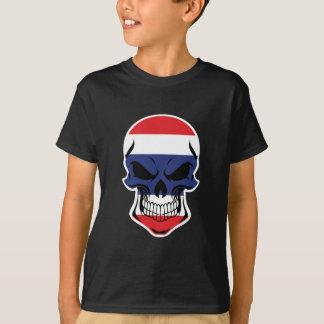 Thai Flag Skull T-Shirt