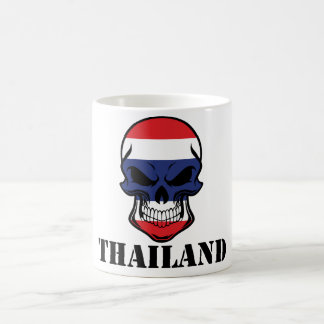 Thai Flag Skull Thailand Coffee Mug