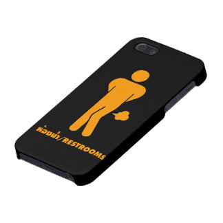 THAI FOOD CAN BE SPICY ⚠ Funny Sign : Restrooms ⚠ Case For iPhone 5/5S