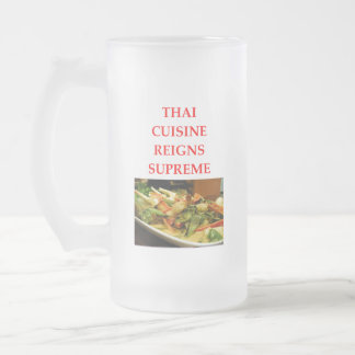 THAI FROSTED GLASS BEER MUG