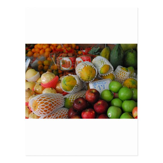 Thai Fruit Postcard