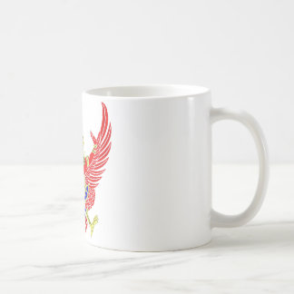 THAI GARUDA - KROOTH - SANSKRIT COFFEE MUG