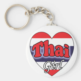 Thai Girl Keychain