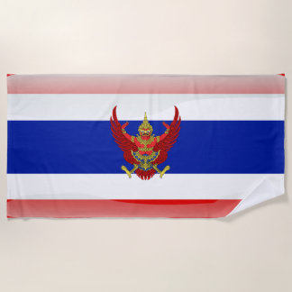 Thai glossy flag beach towel