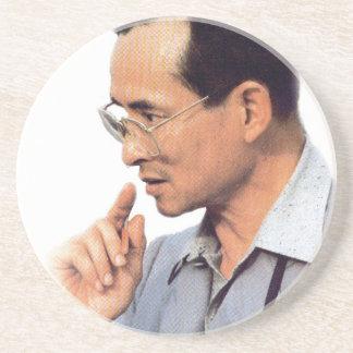 Thai King Bhumibol Adulyadej - ภูมิพลอดุลยเดช Coaster