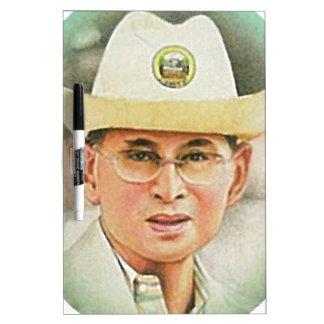 Thai King Bhumibol Adulyadej - ภูมิพลอดุลยเดช Dry Erase Board