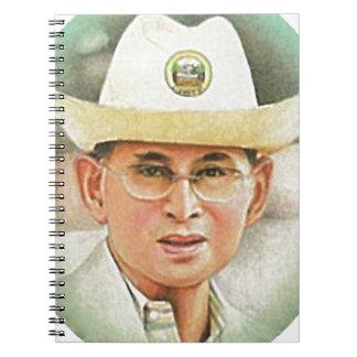 Thai King Bhumibol Adulyadej - ภูมิพลอดุลยเดช Notebooks