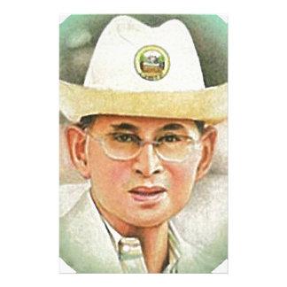 Thai King Bhumibol Adulyadej - ภูมิพลอดุลยเดช Stationery