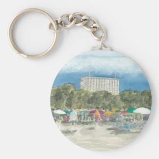 Thai Park Berlin Basic Round Button Keychain