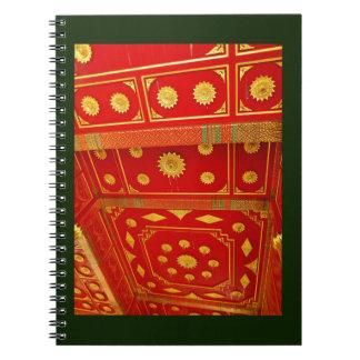 Thai Pavilion Ceiling Notebook