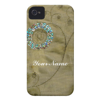 Thai Sequins (PRINT ONLY, NOT REAL) iPhone 4 Case
