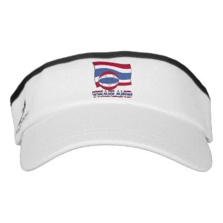 Thai Soccer Ball and Flag Visor
