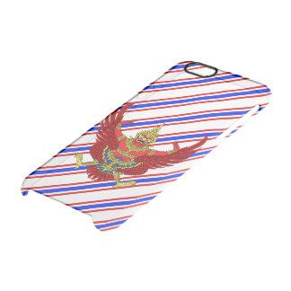 Thai stripes flag clear iPhone 6/6S case