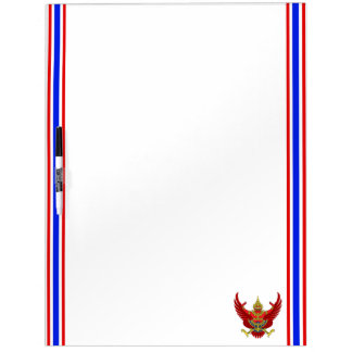 Thai stripes flag dry erase board