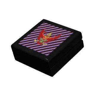 Thai stripes flag gift box