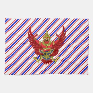 Thai stripes flag kitchen towel