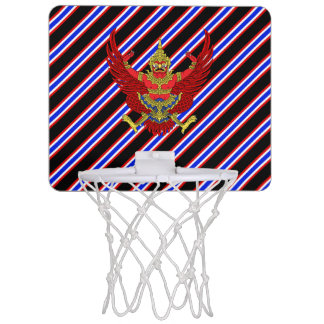 Thai stripes flag mini basketball hoop