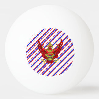Thai stripes flag ping pong ball