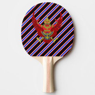 Thai stripes flag ping pong paddle
