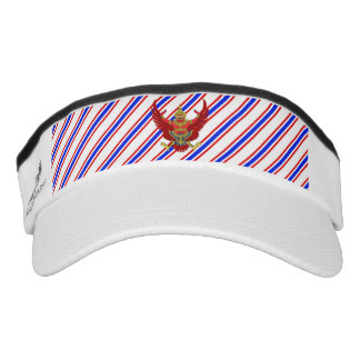 Thai stripes flag visor