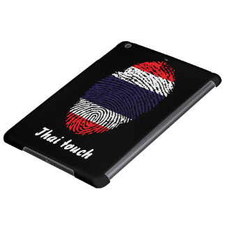 Thai touch fingerprint flag case for iPad air