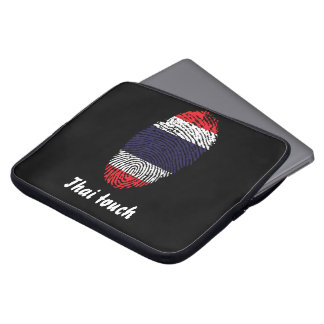 Thai touch fingerprint flag laptop sleeve