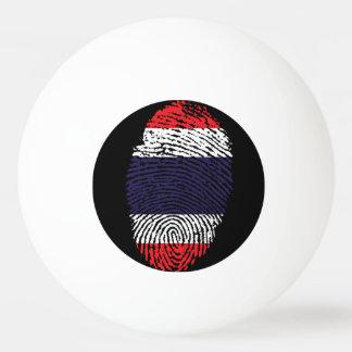 Thai touch fingerprint flag Ping-Pong ball