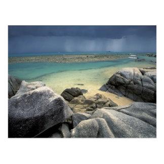 Thailand, Andaman Sea, Ko Phi Phi Island, Scenic Postcard