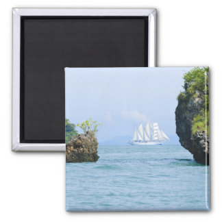 Thailand, Andaman Sea. Star Fyer clipper ship 2 Magnet