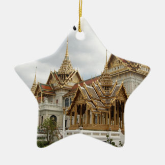 Thailand Bangkok grand palace (new) (St.K) Ceramic Star Ornament