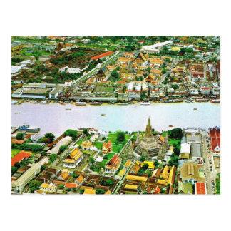 Thailand, Bangkok,  River Postcard