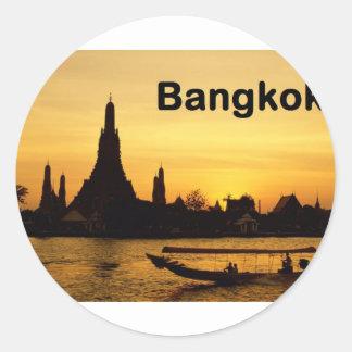 Thailand Bangkok (St.K) Classic Round Sticker