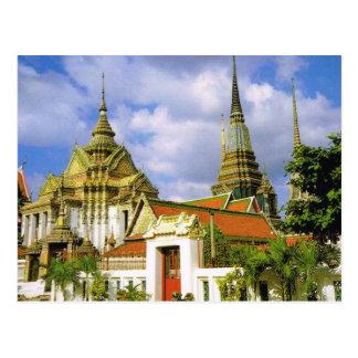 Thailand, Bangkok  Wat Phra Chetuphon Postcard