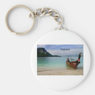 Thailand beach in Krabi (St.K) Keychain