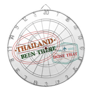 Thailand Been There Done That Dartboard