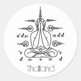 THAILAND Buddha sticker
