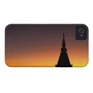 Thailand, Doi Inthanon Mountain. Sunset iPhone 4 Cover