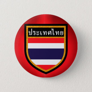 Thailand Flag 2 Inch Round Button