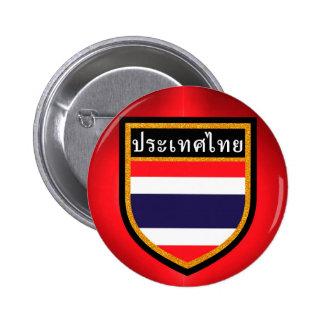 Thailand Flag 2 Inch Round Button