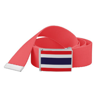 Thailand Flag Belt