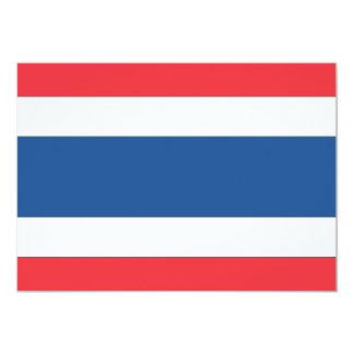 Thailand Flag Card