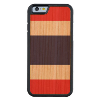 Thailand Flag Carved Cherry iPhone 6 Bumper Case
