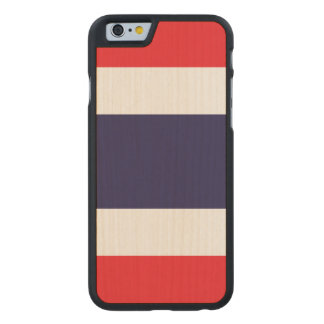 Thailand Flag Carved Maple iPhone 6 Case